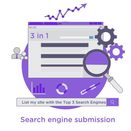 WebZen Google, Yahoo and bing site listing submission service Have WebZen quickly submit your website to the Google, Yahoo and bing uk search engines for ranking.